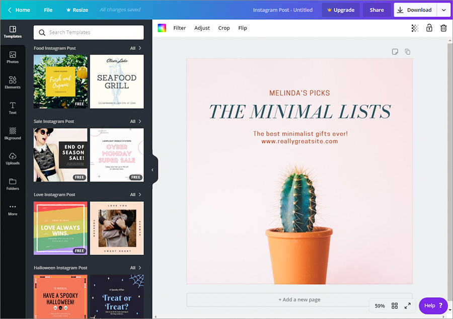Canva - Use Canva to Create Inspirational Pin-Worthy Visuals